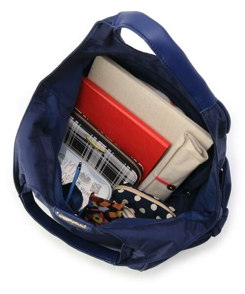 passage mignon / パサージュ ミニョン トートバッグ | 【軽量】サイドリボンラウンド型バッグ | 詳細6