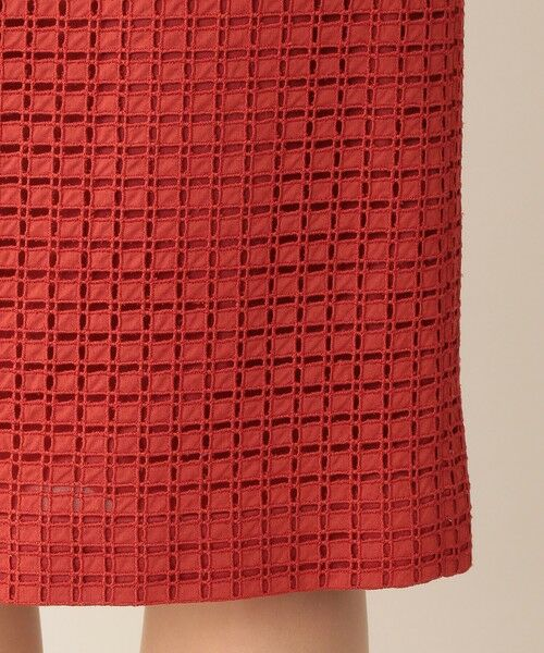 Paul Stuart / ポール・スチュアート スカート | ミニブロックエンブロイダリー スカート | 詳細15