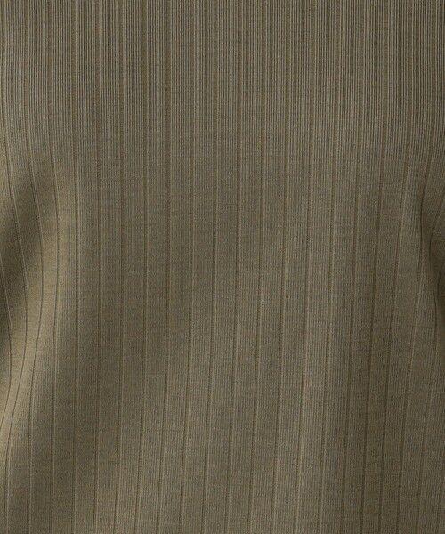 Paul Stuart / ポール・スチュアート カットソー | 針抜きフライス 半袖Vネックプルオーバー【ウォッシャブル】 | 詳細9