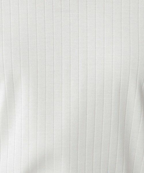 Paul Stuart / ポール・スチュアート カットソー | 針抜きフライス 半袖Vネックプルオーバー【ウォッシャブル】 | 詳細10