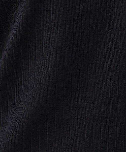 Paul Stuart / ポール・スチュアート カットソー | 針抜きフライス 半袖Vネックプルオーバー【ウォッシャブル】 | 詳細11
