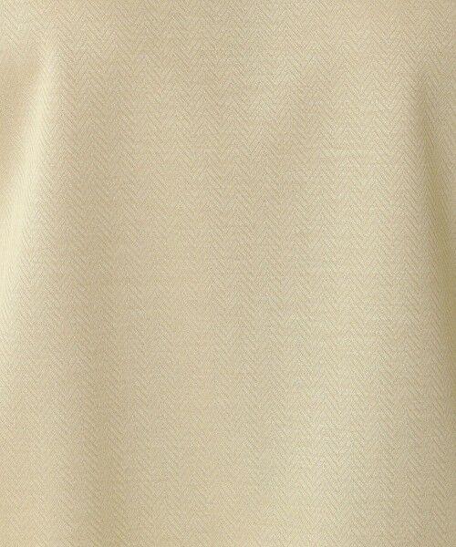 Paul Stuart / ポール・スチュアート カットソー | ヘリンボーンジャージ 半袖プルオーバー【ウォッシャブル】 | 詳細10