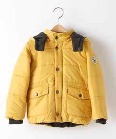 袖リブ中わた入りジャケット