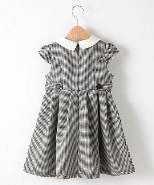 petit main / プティマイン ミニ丈・ひざ丈ワンピース | 衿つきウエスト切り替えワンピース | 詳細2