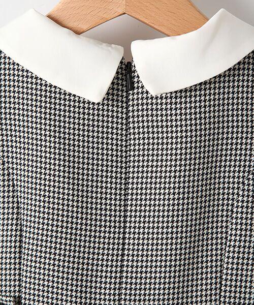 petit main / プティマイン ミニ丈・ひざ丈ワンピース | 衿つきウエスト切り替えワンピース | 詳細5