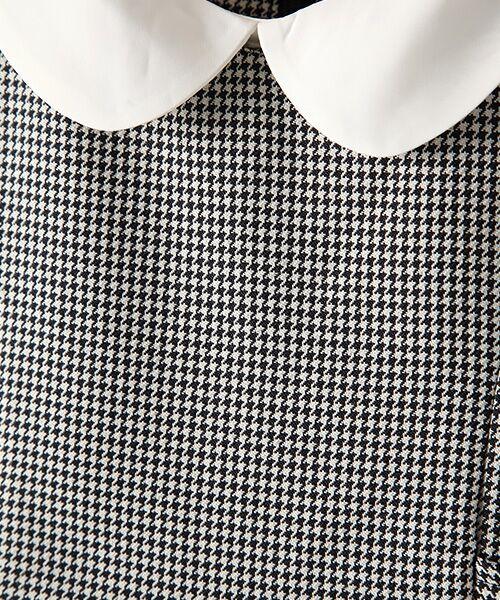 petit main / プティマイン ミニ丈・ひざ丈ワンピース | 衿つきウエスト切り替えワンピース | 詳細9