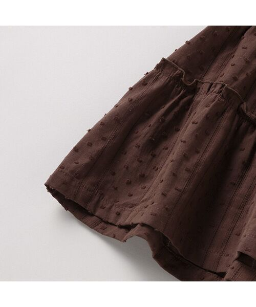 petit main / プティマイン Tシャツ | 【リンク/接触冷感】切替ティアードTシャツ | 詳細6