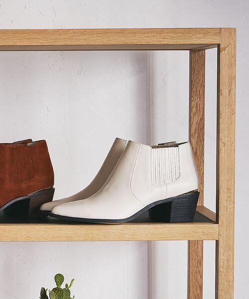PICHE ABAHOUSE / ピシェ アバハウス ブーツ(ショート丈) | ウエスタンアンクルブーツ | 詳細5