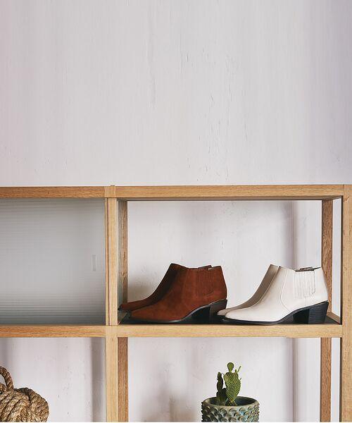 PICHE ABAHOUSE / ピシェ アバハウス ブーツ(ショート丈) | ウエスタンアンクルブーツ | 詳細6