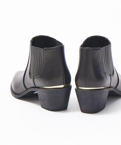 PICHE ABAHOUSE / ピシェ アバハウス ブーツ(ショート丈) | ウエスタンアンクルブーツ | 詳細12