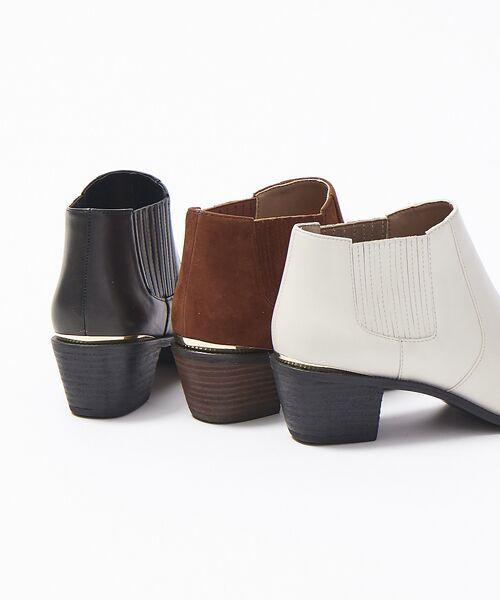 PICHE ABAHOUSE / ピシェ アバハウス ブーツ(ショート丈) | ウエスタンアンクルブーツ | 詳細13