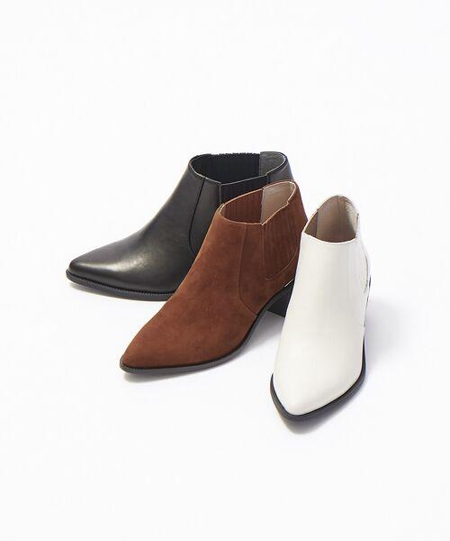 PICHE ABAHOUSE / ピシェ アバハウス ブーツ(ショート丈) | ウエスタンアンクルブーツ | 詳細15