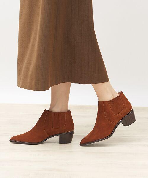 PICHE ABAHOUSE / ピシェ アバハウス ブーツ(ショート丈) | ウエスタンアンクルブーツ | 詳細21