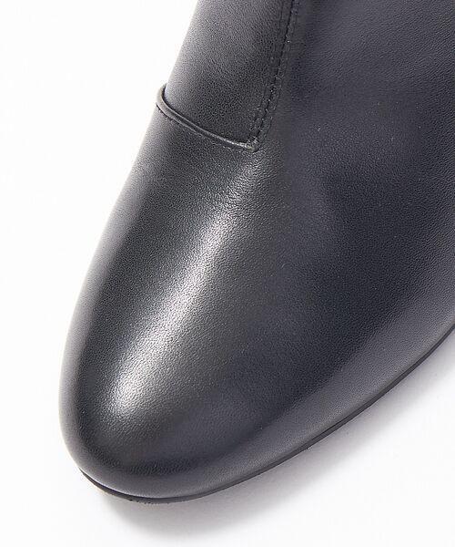 PICHE ABAHOUSE / ピシェ アバハウス ブーツ(ショート丈) | fluffy fit 7cmチャンキーヒールショートブーツ | 詳細19