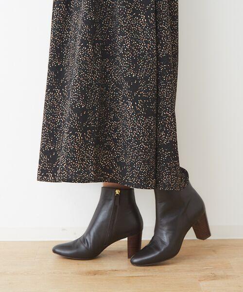 PICHE ABAHOUSE / ピシェ アバハウス ブーツ(ショート丈) | fluffy fit 7cmチャンキーヒールショートブーツ | 詳細20