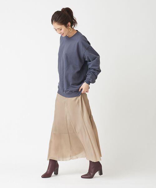PICHE ABAHOUSE / ピシェ アバハウス ブーツ(ショート丈) | fluffy fit 7cmチャンキーヒールショートブーツ | 詳細23