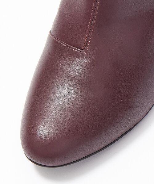 PICHE ABAHOUSE / ピシェ アバハウス ブーツ(ショート丈) | fluffy fit 7cmチャンキーヒールショートブーツ | 詳細26
