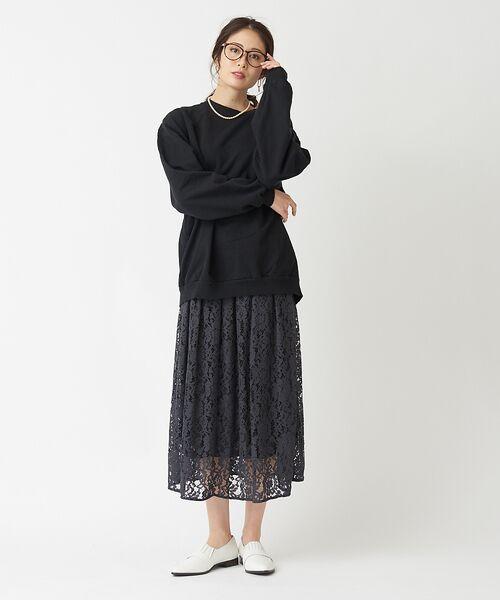 PICHE ABAHOUSE / ピシェ アバハウス シューズ   フロントゴアデザイン スリッポンシューズ   詳細21