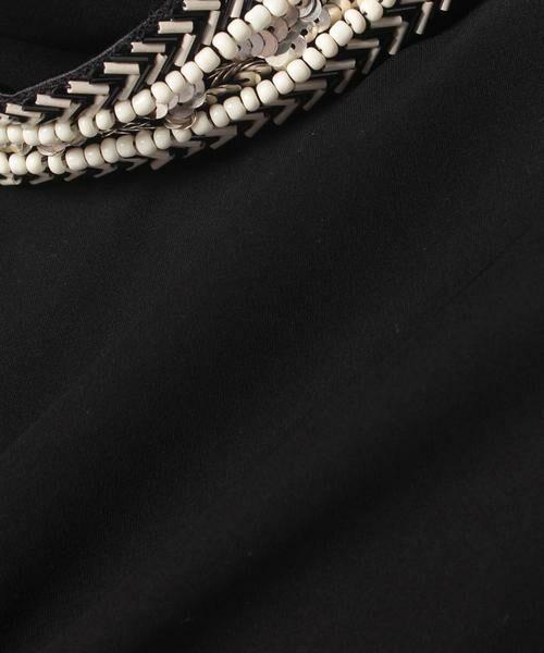 pierre cardin / ピエール ・カルダン ドレス   ビーズ刺繍チュニック   詳細7