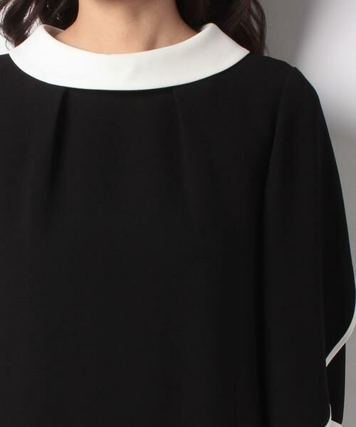 pierre cardin / ピエール ・カルダン ドレス | 複合ジョーゼット ロールカラーワンピース  | 詳細3