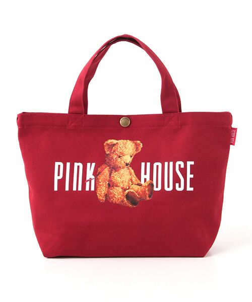 PINK HOUSE / ピンクハウス トートバッグ | ピンクハウスアーカイブプリントトートバッグ | 詳細3