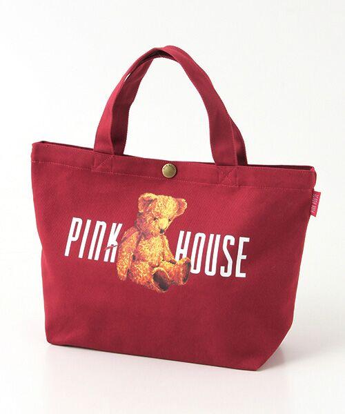 PINK HOUSE / ピンクハウス トートバッグ | ピンクハウスアーカイブプリントトートバッグ | 詳細9