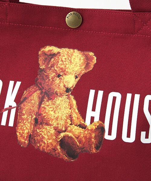 PINK HOUSE / ピンクハウス トートバッグ | ピンクハウスアーカイブプリントトートバッグ | 詳細8