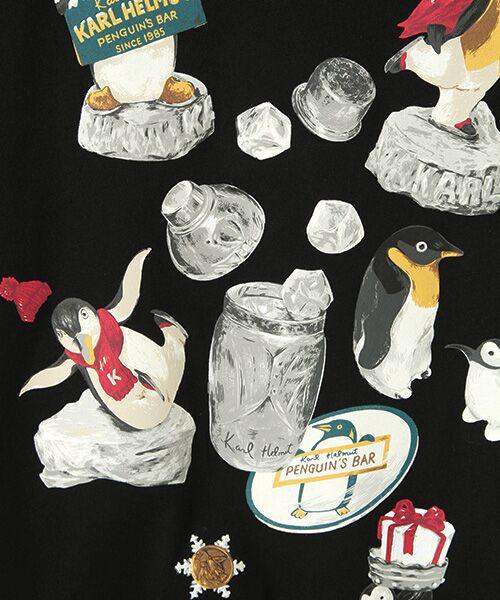 PINK HOUSE / ピンクハウス カットソー   カールヘルムキャラクターリバイバルプリント長袖Tシャツ   詳細1