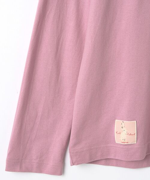 PINK HOUSE / ピンクハウス カットソー | カールヘルムキャラクターリバイバルプリント長袖Tシャツ | 詳細6