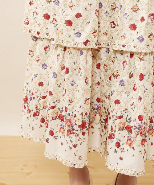 PINK HOUSE / ピンクハウス ロング・マキシ丈ワンピース | ★★★ローズパーティプリントワンピース | 詳細6