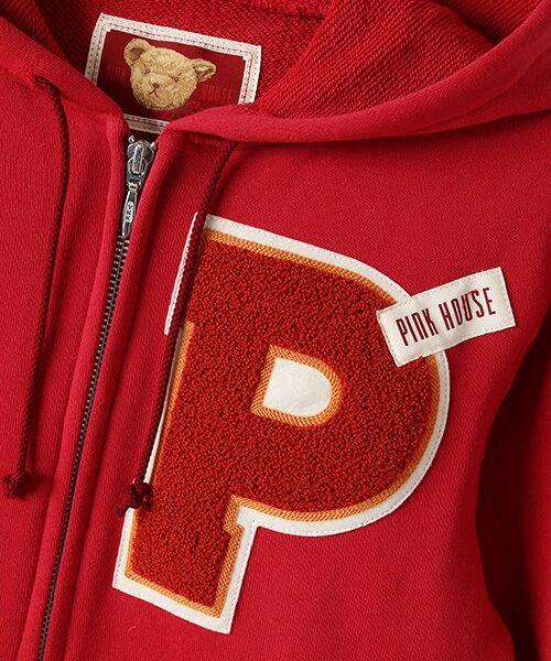 PINK HOUSE / ピンクハウス パーカー | Pサガラワッペン使いカットソーパーカー | 詳細6