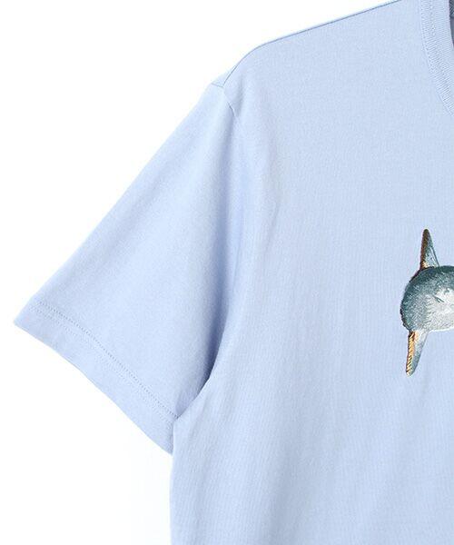 PINK HOUSE / ピンクハウス Tシャツ | マンボウ&パフィン刺繍Tシャツ | 詳細3