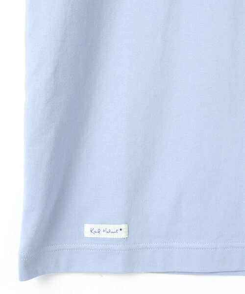 PINK HOUSE / ピンクハウス Tシャツ | マンボウ&パフィン刺繍Tシャツ | 詳細4