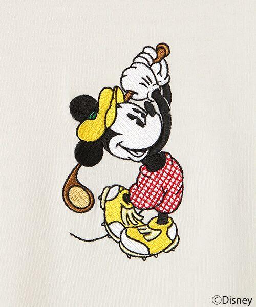 PINK HOUSE / ピンクハウス Tシャツ | 【アウトレット】刺繍Tシャツ/ミッキーマウス | 詳細3