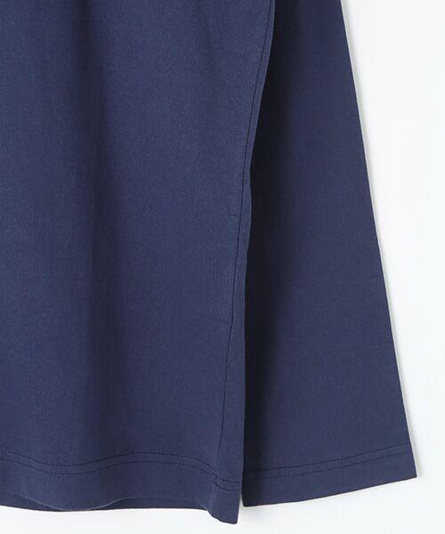 PINK HOUSE / ピンクハウス Tシャツ | カールヘルムロゴプリント長袖Tシャツ | 詳細5