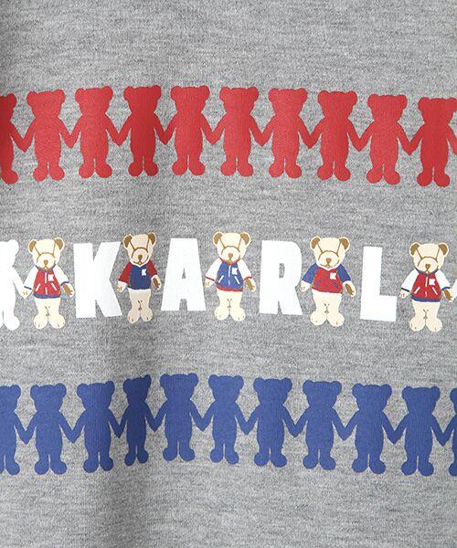 PINK HOUSE / ピンクハウス Tシャツ | シルエットカールくんプリント長袖Tシャツ | 詳細1