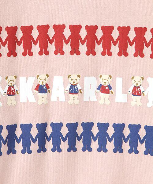 PINK HOUSE / ピンクハウス Tシャツ | シルエットカールくんプリント長袖Tシャツ | 詳細2