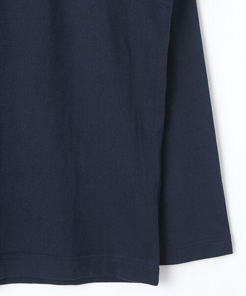 PINK HOUSE / ピンクハウス Tシャツ | シルエットカールくんプリント長袖Tシャツ | 詳細5