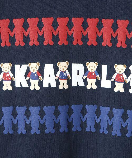 PINK HOUSE / ピンクハウス Tシャツ | シルエットカールくんプリント長袖Tシャツ | 詳細6