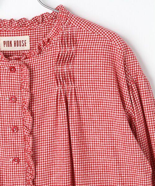 PINK HOUSE / ピンクハウス ロング・マキシ丈ワンピース | クラシックビエラギンガムワンピース | 詳細2