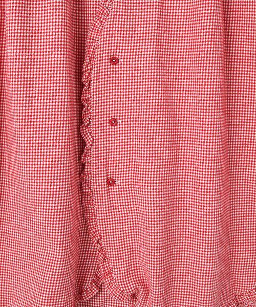 PINK HOUSE / ピンクハウス ロング・マキシ丈ワンピース | クラシックビエラギンガムワンピース | 詳細5