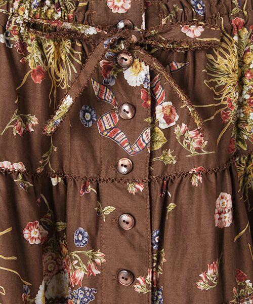 PINK HOUSE / ピンクハウス ロング・マキシ丈スカート | コテージチャームプリントパッチワークスカート | 詳細7