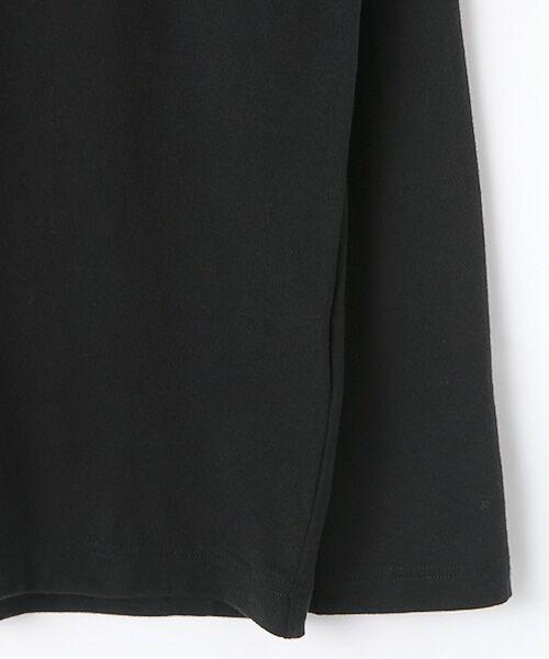 PINK HOUSE / ピンクハウス Tシャツ | ネームワッペン使い長袖Tシャツ | 詳細3