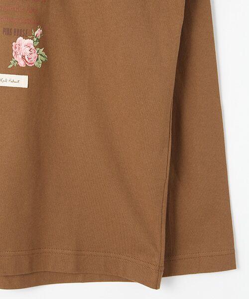 PINK HOUSE / ピンクハウス Tシャツ | アランダーザグラスプリント長袖Tシャツ | 詳細4