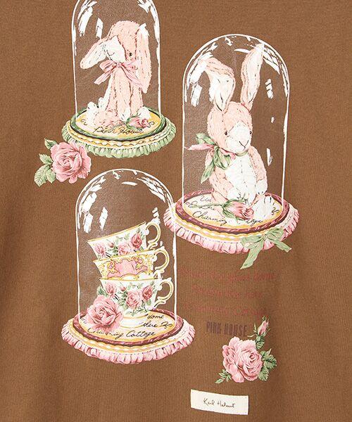PINK HOUSE / ピンクハウス Tシャツ | アランダーザグラスプリント長袖Tシャツ | 詳細5