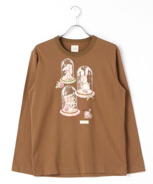 アランダーザグラスプリント長袖Tシャツ