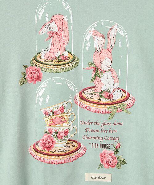 PINK HOUSE / ピンクハウス Tシャツ | アランダーザグラスプリント長袖Tシャツ | 詳細6