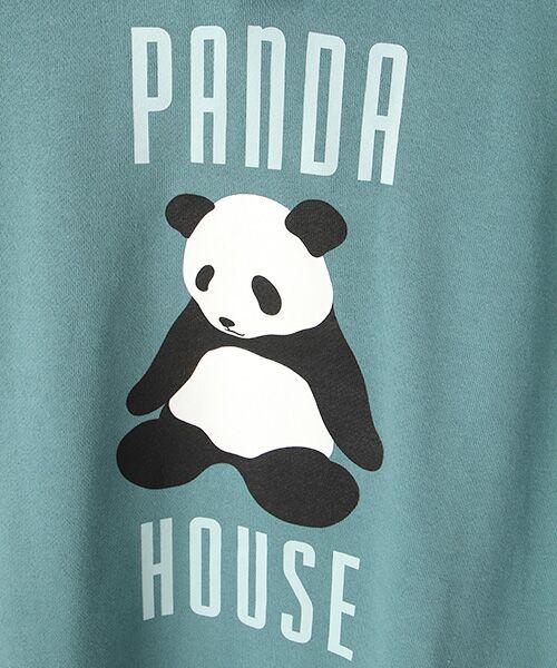 PINK HOUSE / ピンクハウス スウェット | PANDA HOUSEプリントフード付きトレーナー | 詳細7