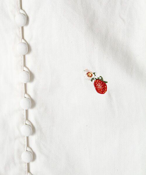PINK HOUSE / ピンクハウス シャツ・ブラウス | キャラクター&モチーフワンポイント刺繍デニムブラウス | 詳細1