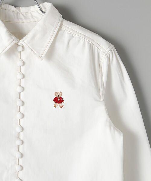 PINK HOUSE / ピンクハウス シャツ・ブラウス | キャラクター&モチーフワンポイント刺繍デニムブラウス | 詳細6